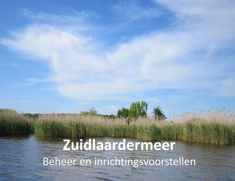 Beheer- en inrichtingsvoorstellen Zuidlaardermeer